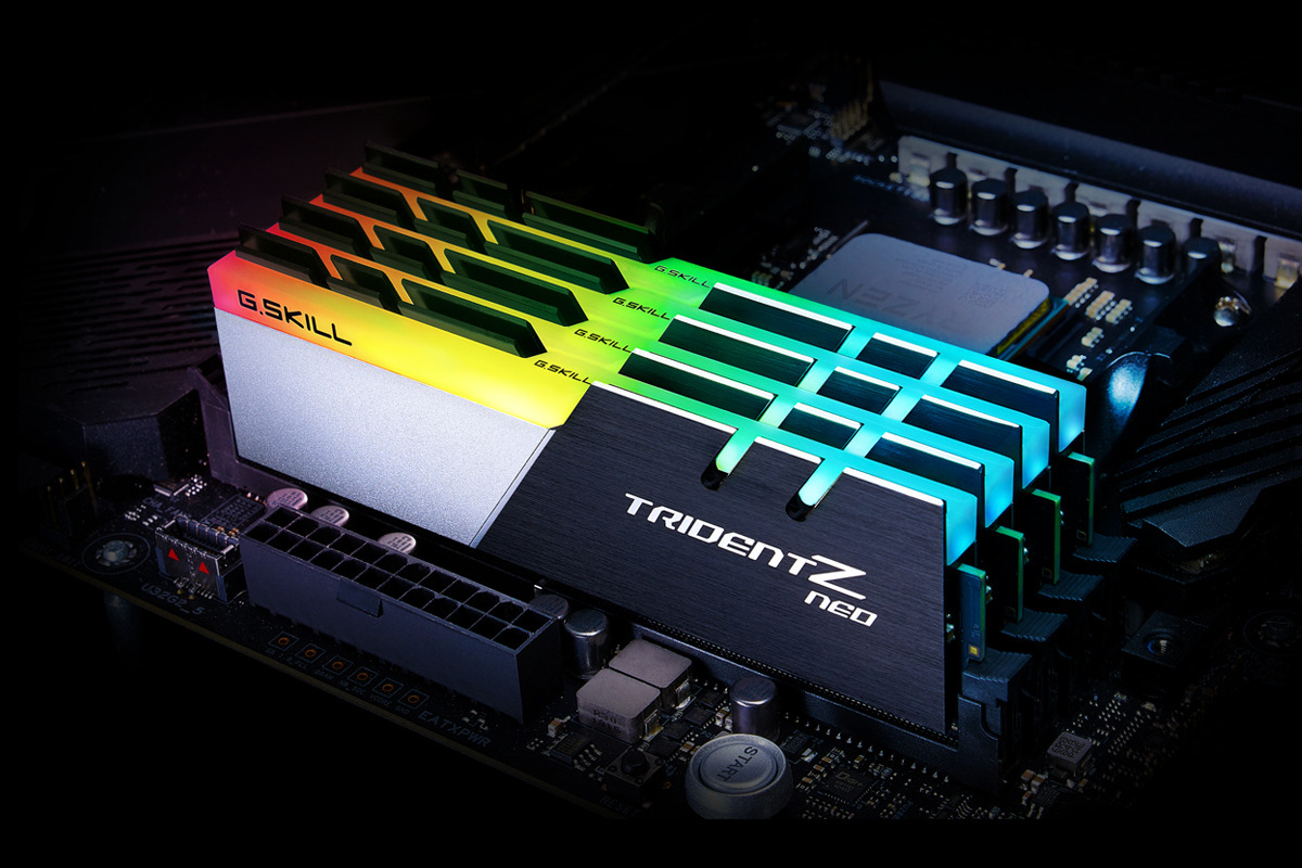 G SKILL Announces Trident Z Neo DDR4 Memory Series for AMD