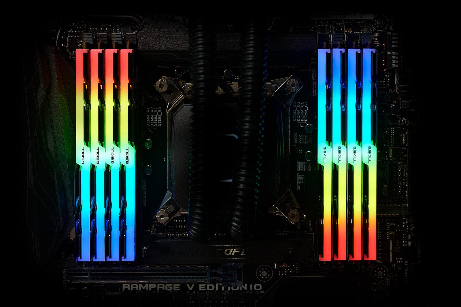 Prise en charge RGB pleine gamme